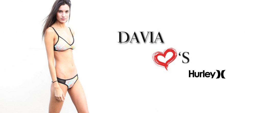 Davia Gomez, Hurley, Swimwear, Swimsuits, Bikini, Athletic Wear, Workout Gear, Nous Models, Nous Model Management